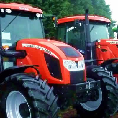 New Equipment - Tractor